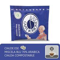 150 CIALDE CARTA ESE44 CAFFE' BORBONE MISCELA  BLU ITALIANFEEL