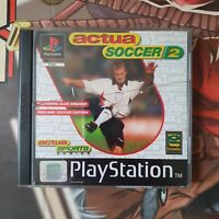 Actua Soccer 2 - PS1 Game - Complete - Sony Playstation - UK Pal - Football