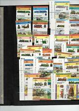 56 timbres neufs Saint Vincent Grenade locomotives