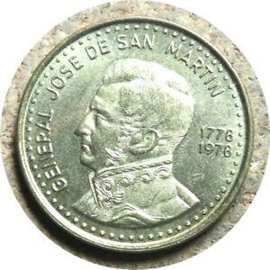 elf Argentina 100 Pesos 1978  San Martin
