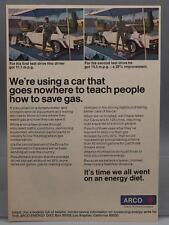 Vintage Magazine Ad Print Design Advertising Arco Petroleum
