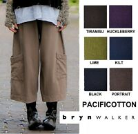 PACIFICOTTON Bryn Walker Pacific Cotton  CASBAH PANT  Pocket 1X 2X 3X  FALL 2018