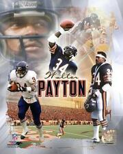WALTER PAYTON ~ 8x10 Color Photo Picture Collage #1 ~ Chicago Bears