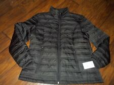 Zeroxposur Women's black quilted Jacket L NWT