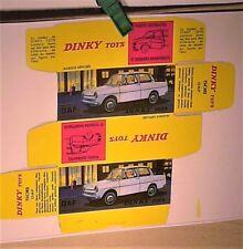 Réplique boite DAF DAFFODIL / DINKY TOYS 1966