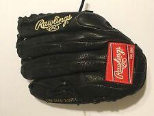"Rawlings Gamer, Pro Preferred Black Baseball Glove, GG601G Trap-Eze 12 3/4"" RHT"