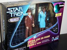 STAR TREK CAPTAIN JEAN-LUC PICARD & GUINAN, HOLODECK SERIES, NEW IN BOX 1998