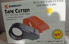 2 Packing Box Sealing Light Weight Tape Cutter Gun Dispenser With Free Tape