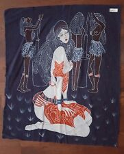 Hand made Chinese wax painting batik 33in x 28in #127