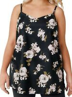 Yours cami top blouse plus size 16 18 20 22 24 26/28 30/32 34/36 blossom print