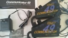 Lot of 2 Collett Electronics 49 All Weather Communicator Multi Channel