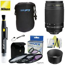 Nikon 70-300mm f/4-5.6 G AF Zoom Nikkor Lens for Nikon D3200 D3300 D5200 D5300