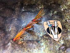 3 V Fly Size 14 Ultimate Low water RV Gold Willie Gunn Double Salmon Flies