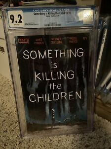 SOMETHING IS KILLING THE CHILDREN #1 CGC 9.2