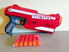 Pistolet NERF Élite MEGA MAGNUS + 6 Fléchettes neuves - TBE Jeu Jouet exterieur
