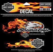 HARLEY DAVIDSON Screamin Eagle 3 Piece Decal HARLEY DECAL