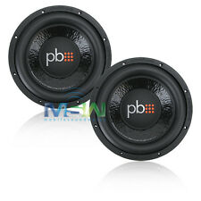 """(2) PowerBass M-1004 10"""" 650W RMS CAR STEREO SUBWOOFERS SUB WOOFER M1004 *PAIR*"""