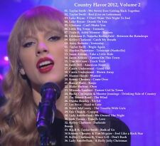 Country Music Promo DVD, 2012 Country Hits, Country Flavor Vol. 2, ONLY on Ebay!