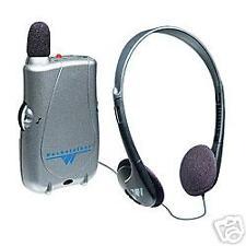 NEW Pocketalker Ultra Listening System w/Headphones
