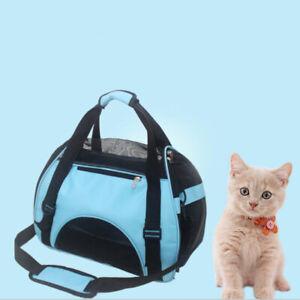 Pet Carrier Soft Sided Cat/Dog Puppy Mesh Sling Carry Travel Tote Shoulder BAU
