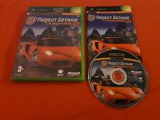 PGR PROJECT GOTHAM RACING 2 XBOX MICROSOFT PAL COMPLET VF
