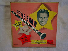 1950's ARTIE SHAW FOUR STAR FAVORITES-Frenesi,Star Dust,Traffic Jam,rca epa 85