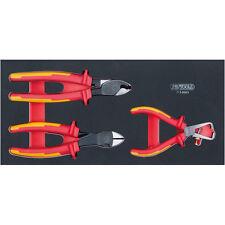 Ks Tools 713.0003 Module de 3 Pinces Isolées 1000v Ergotorque