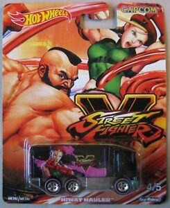 Hot Wheels 2019 Capcom Pop Culture Street Fighter HIWAY HAULER 4/5