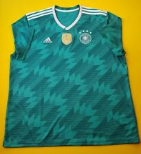 4.9/5 Germany soccer jersey 2XL 2018 away shirt BR3144 Adidas football ig93