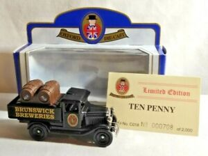 OXFORD DIECAST LIMITED EDITION CHEVROLET TRUCK TEN PENNY ALE BRUNSWICK BREWERY