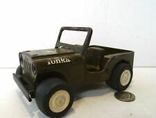 Vintage Mini 1965 Army Military Tonka #40 Jeep Commander Steel !!!