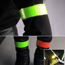 Reflective Stickers Cycling Strips Bicycle Bind Pants Leg Strap Reflective Tape