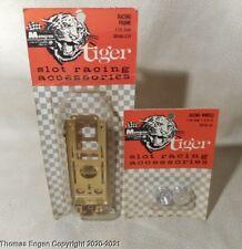 1964 Monogram Tiger Slot Car Model Racing Frame Chassis NOS w Racing Wheels 1/24