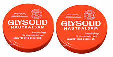 2x100ml GLYSOLID Hautbalsam Handcreme Pflegecreme +Glycerin +Allantoin