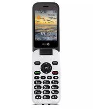 Doro 6620 3G Sim-Free Unlocked Big Button Mobile Phone - Black/White A