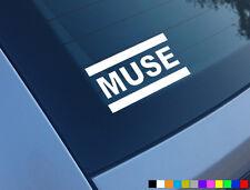 Muse Auto Adhesivo De Vinilo Banda De Guitarra Divertida parachoques ventana calcomanía