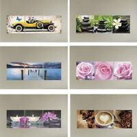 Removable 3D Car Flower Wall Sticker Decal Art Mural Home Room Decor Gift 3Pcs