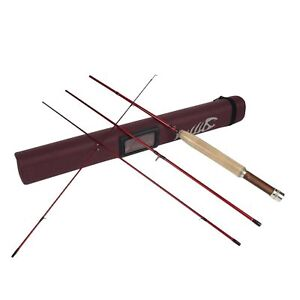 """Aventik Light  6'1"""", 6'8'', 7'6'', All in 4 Pieces Fast Action freshwate Fly Rod"""