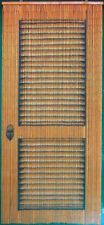Louver Doors Beaded Bamboo Curtains Decor Panel Window Office Dividers Wall Arts