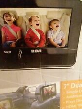 7 Inch Dual Screen Mobile DVD System RCA