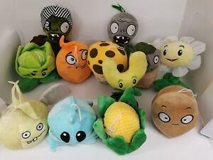 Plants Vs Zombies Soft Plush Toys Games PVZ 13-20cm Stuffed Doll for Kid Gift