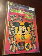 1977 GOLDEN PRESS MICKEY MOUSE CLUB FUN BOOK 224 COLOR PAGES