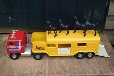 ERTL Vista Dome Horse Van International Transtar Semi Trailer C/W Horses GSH3