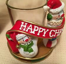 ❀ڿڰۣ❀ YANKEE CANDLE Festive CHRISTMAS CIRCUS Design VOTIVE CANDLE HOLDER ❀ڿڰۣ❀