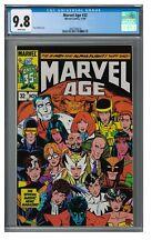 Marvel Age #22 (1985) Cooper Age X-Men/Alpha Flight Cover CGC 9.8 EB443