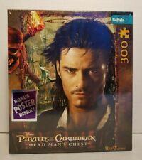 Disney Pirates Of The Caribbean Dead Man's Chest 300 Piece Puzzle W