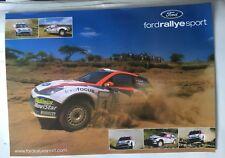 AFFICHE POSTER FORD FOCUS WRC CARLOS SAINZ COLIN MCRAE SAFARI RALLY 2002 RALLYE