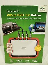 Honestech Convert VHS Tape To DVD 5.0 Deluxe Video Conversion NEW