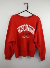 VTG CHAMPION USA PRO COLLEGE ATHLETIC SPORTS OVERHEAD SWEATSHIRT JUMPER VGC UK L