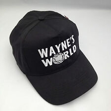 Wayne's World Embroidered Baseball Cap, Hat Retro Party Cap.